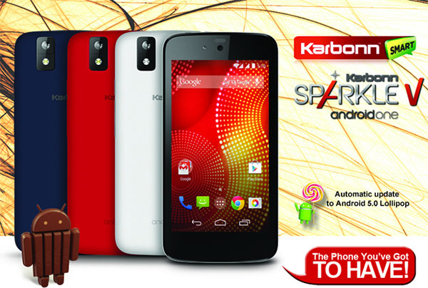 Karbonn-Sparkle-V-Android-One