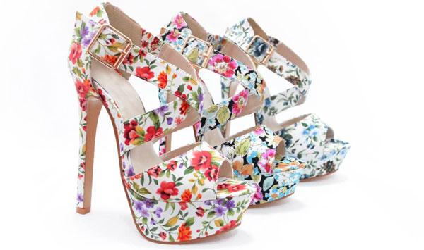 Sandale-dama-cu-flori